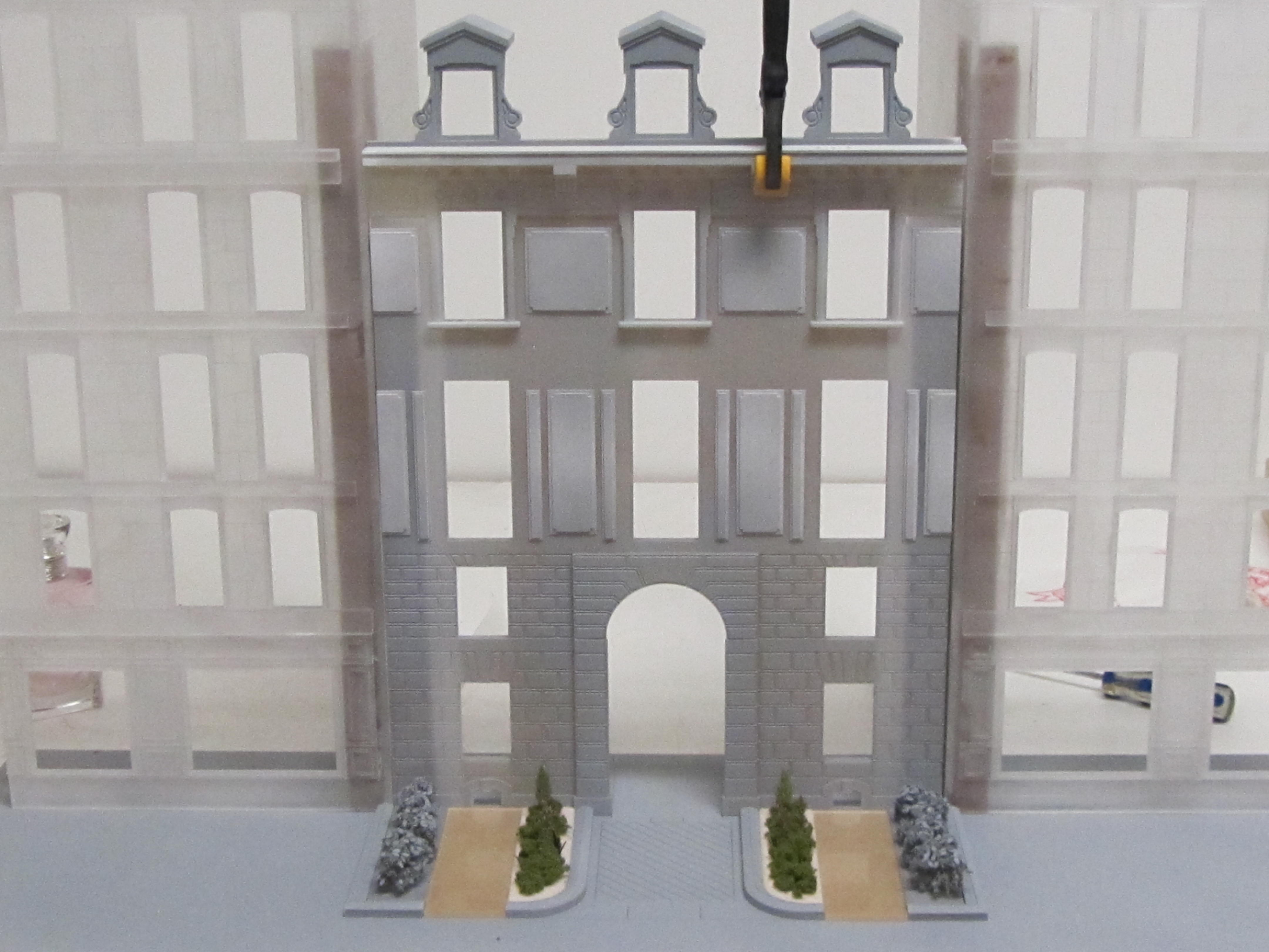 architectural prop model