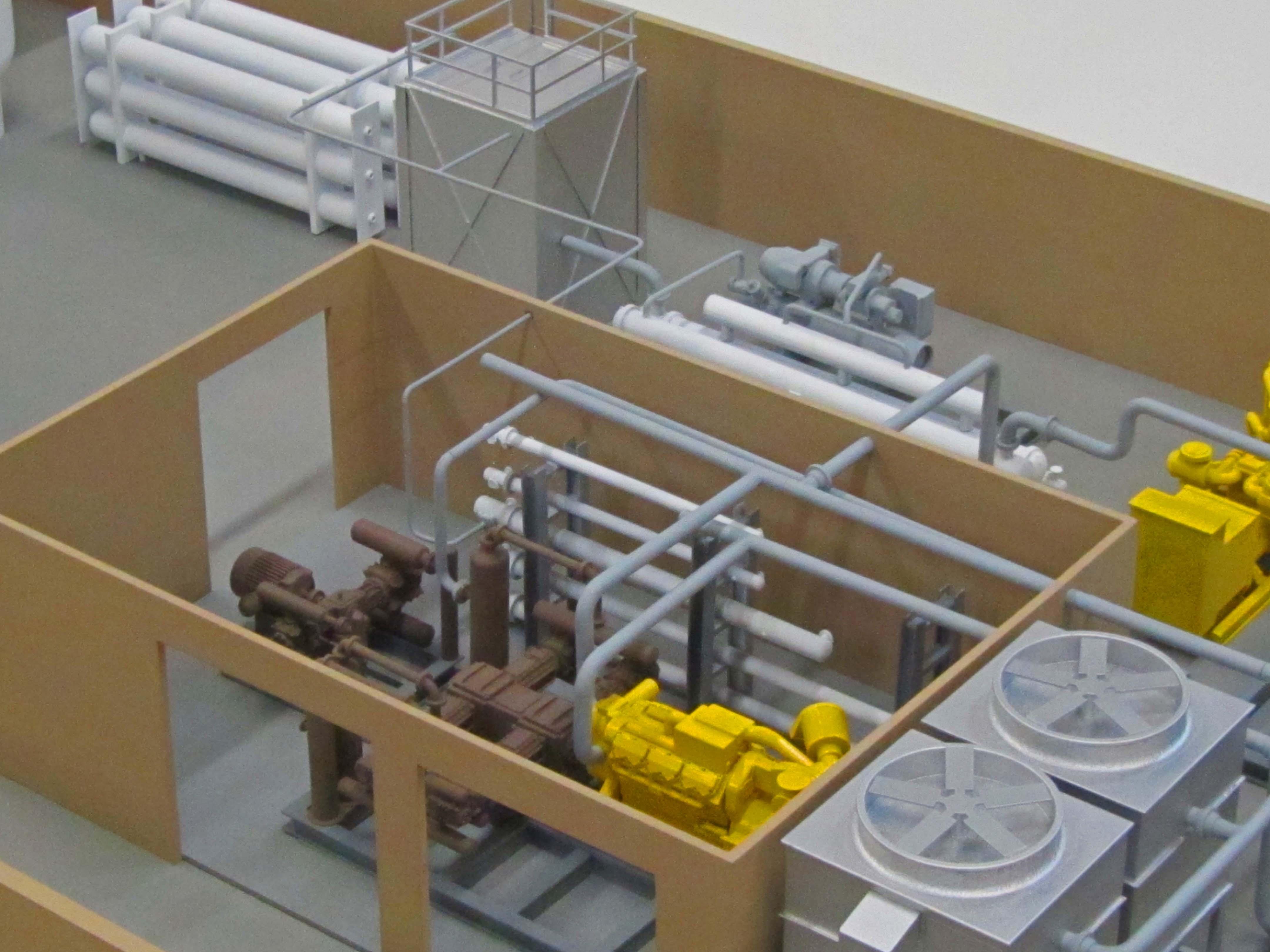 Propane Facility Model