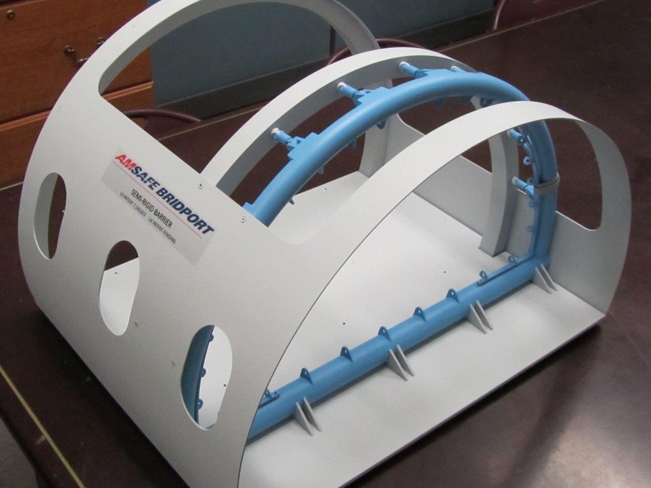 airplane fuselage model