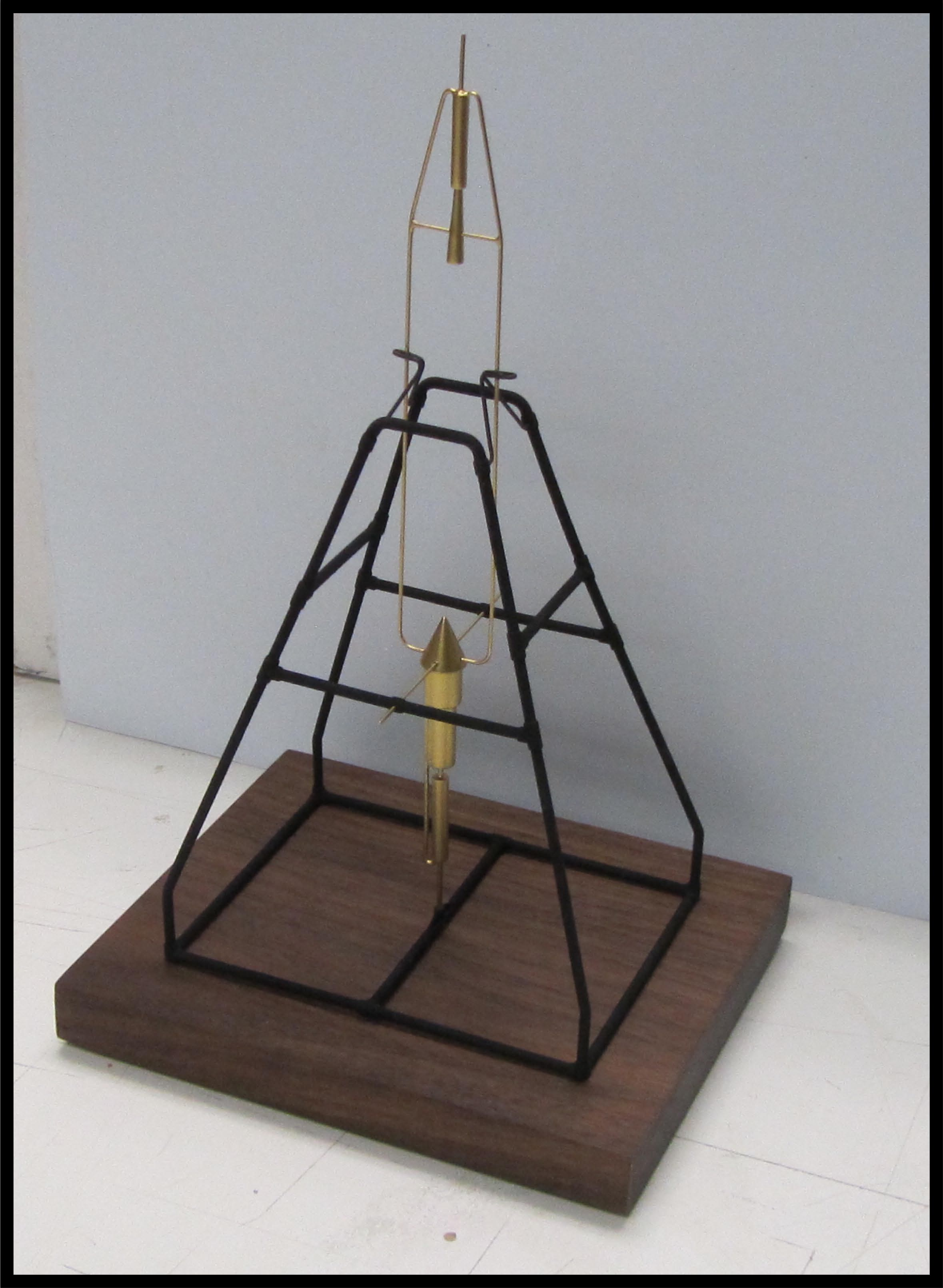 Desktop Rocket Model