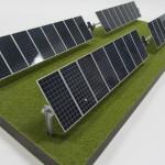 solar array model