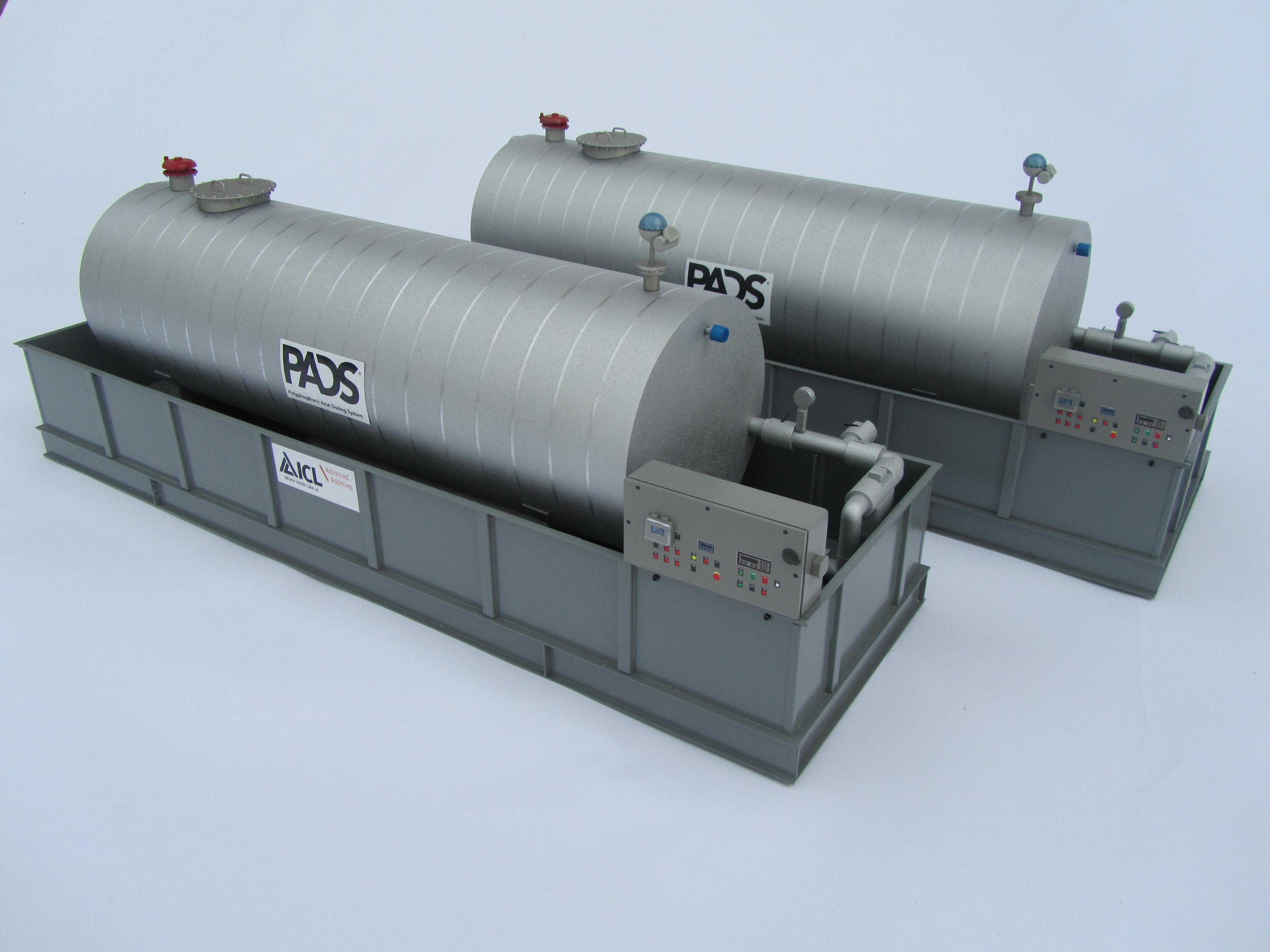 storage tank models