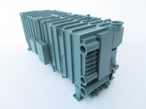 double effect steam chiller