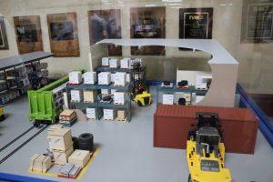 Forklift Diorama Kiwimill