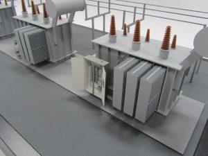 power transformer model
