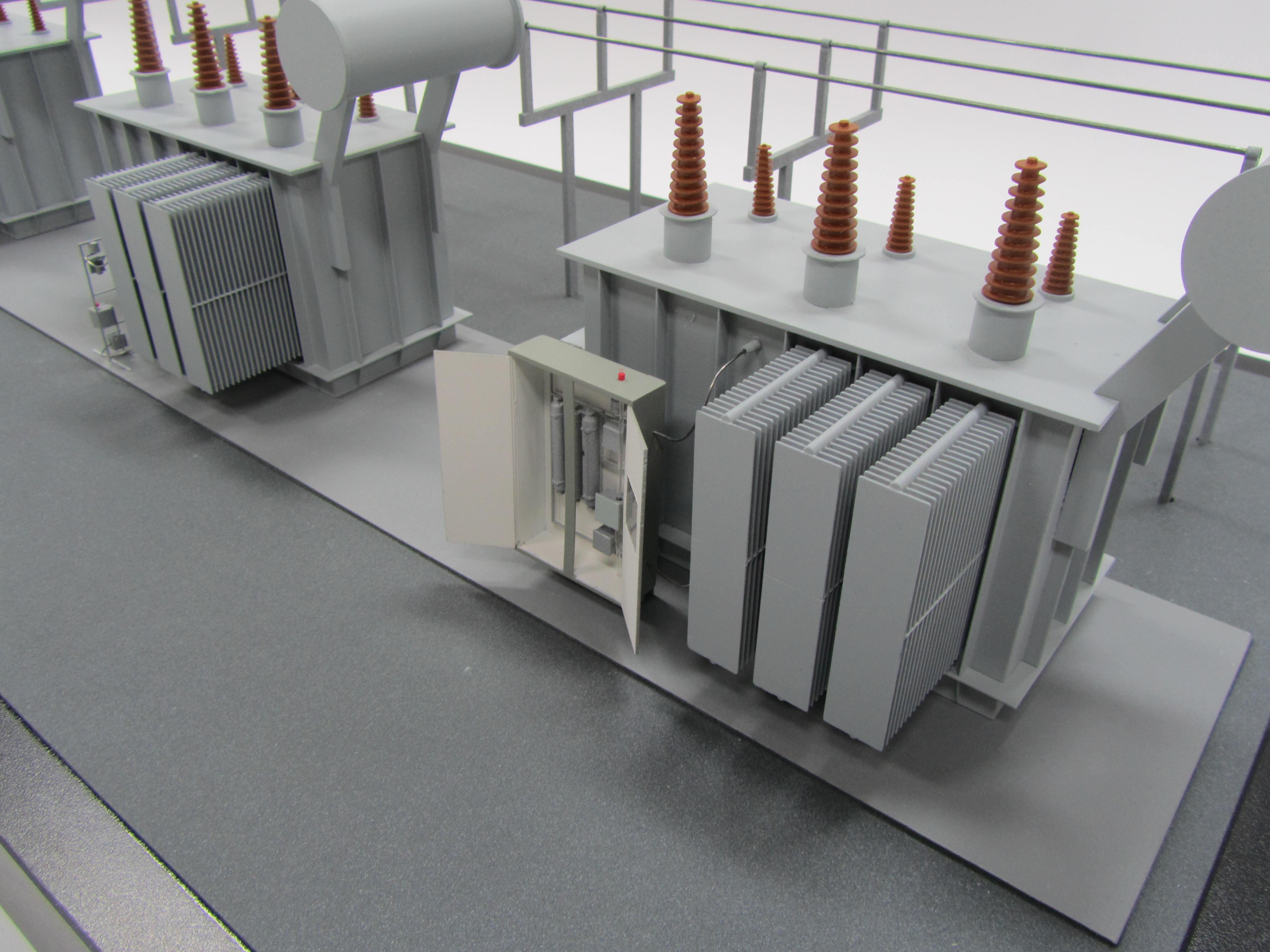 Power Transformer Model - KiwiMill