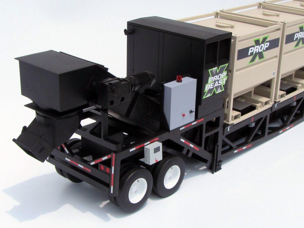 Fracking Trailer Model Kiwimill