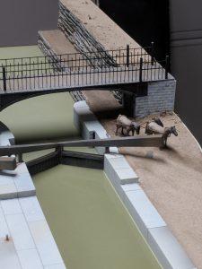 Flight of Five canal model